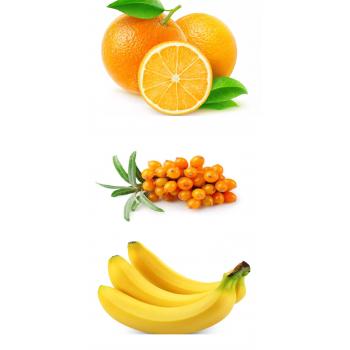 Orange - argousier - banane...