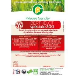Présure Berthelot Spéciale 300